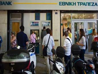 Yunanistan ATM'lerden para kesecek