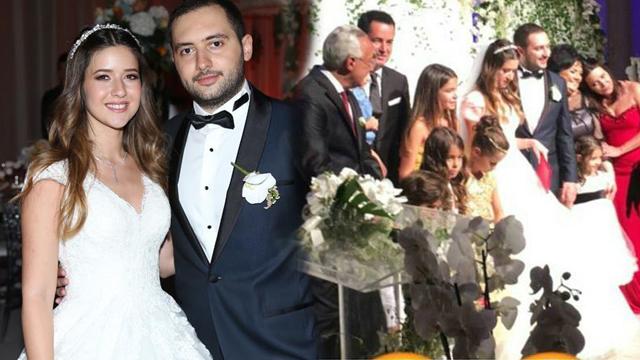 Acun Ilıcalı'nın kızı Banu Ilıcalı'nın düğününe ünlü akını