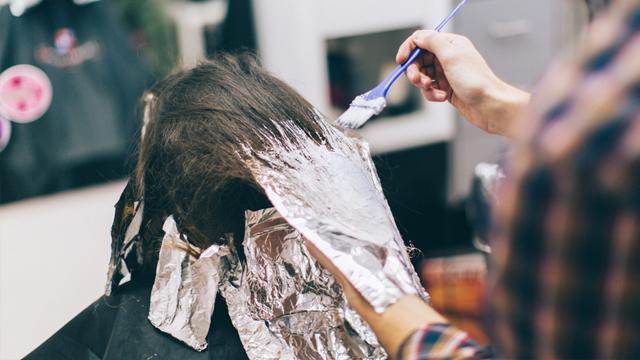 Saç boyama derdine son!