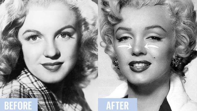 Estetik cerrahiden önce Hollywood yıldızları nasıl mı güzelleşiyordu?