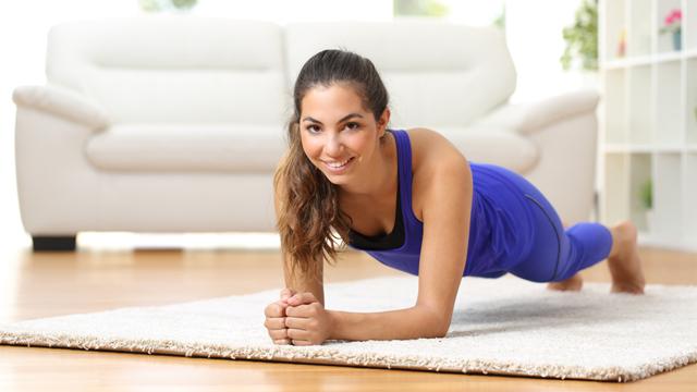Evde zayıflamak için 15 dakikalık mini egzersizler