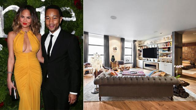 Chrissy Teigen ve John Legend'ın yeni evi