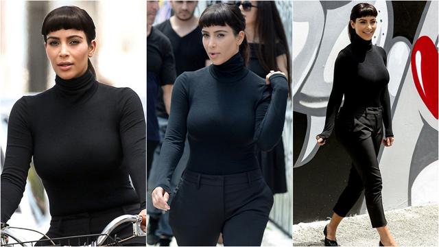 Kim Kardashian 'Audrey Hepburn' oldu!