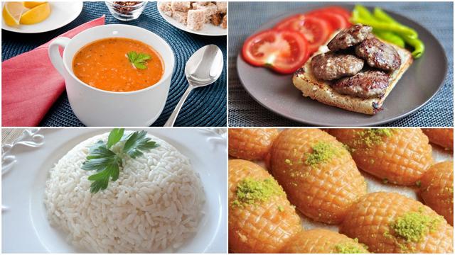 1 Temmuz günün iftar menüsü
