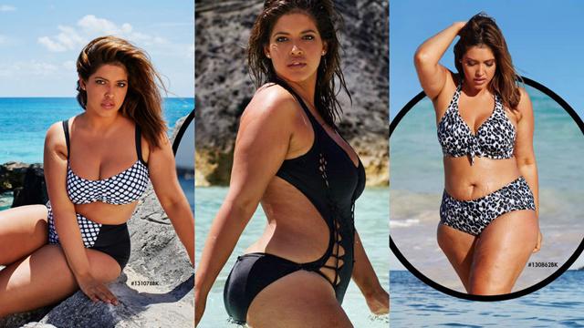 Büyük beden modelden dikkat çekici kampanya!