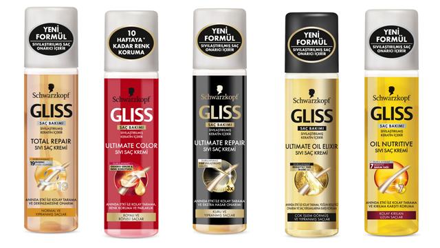 Gliss Sıvı Saç Kremleri ile yaz boyu saçlarınızı korumak elinizde