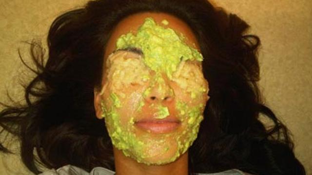 Avokado maskeli ünlüyü tanıdınız mı?