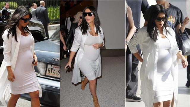 Kim Kardashian'ın favori hamilelik stili