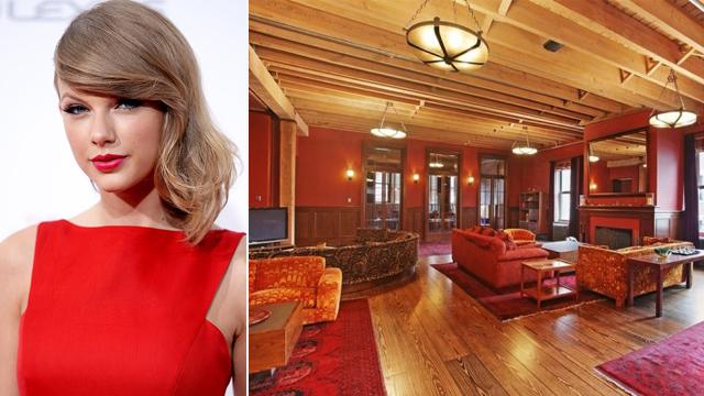 Taylor Swift'in evini yakından görün!