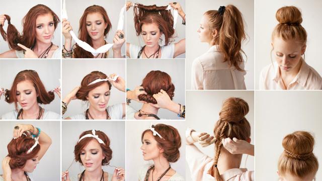 5 dakikada yapabileceğiniz hem şık hem pratik 15 yaz saçı