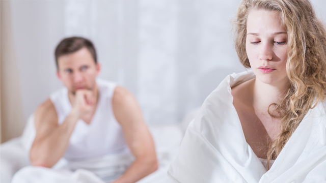 'Kocam seks yapmak istemiyor ve ben çocuk istiyorum'