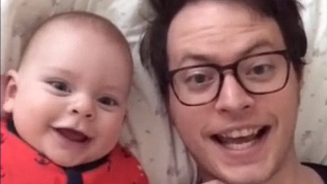 Baba ve oğlunun muhteşem videosu izlenme rekoru kırıyor
