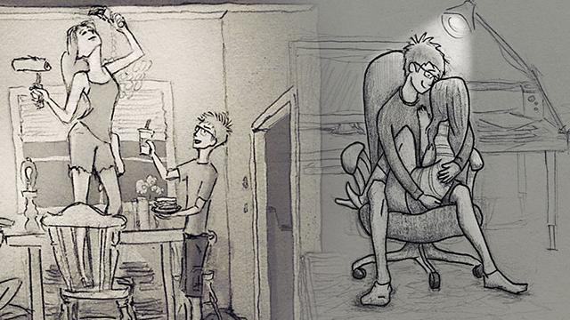 Karısı ile gündelik hayatta yaşadıklarını kaleme alan romantik koca
