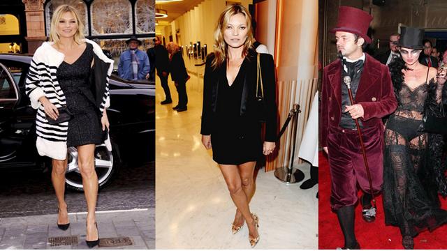 Kate Moss'un muhteşem stili!