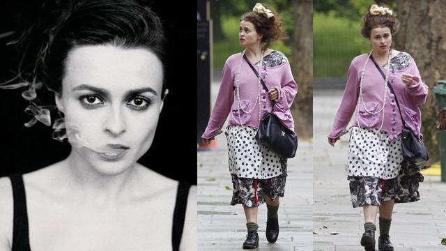 Helena Bonham Carter farkı: Bunu başkası giyse sosyal linçe maruz kalırdı