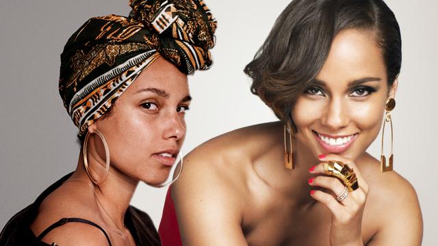 Alicia Keys tüm tabuları yıktı ve anti-mankyaj hareketiyle savaş açtı