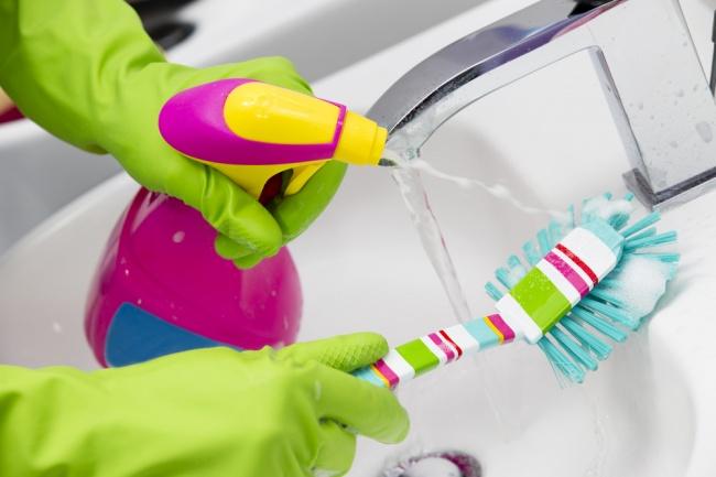 Sert kimyasallar olmadan da temizlik yapılabilir