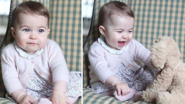 Prenses Charlotte'un (nihayet) iki fotoğrafı yayınlandı!