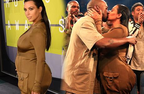 Kim Kardashian yine kendini konuşturdu
