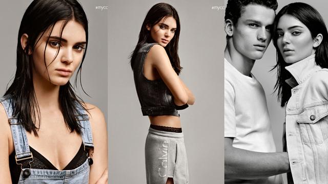 Kendall Jenner Calvin Klein Jeans'in yeni yüzü