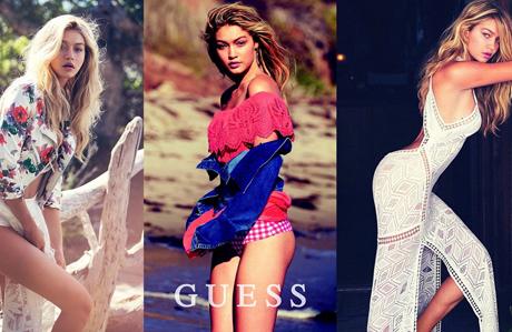 Gigi Hadid Guess'in yeni yüzü