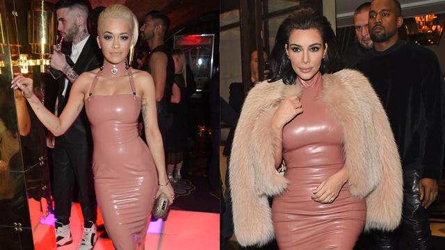 Kim Kardashian ve Rita Ora pişti oldu