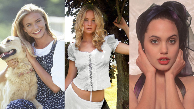 Gençken modellik yapmış ünlüler