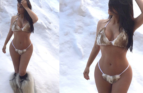 Kim Kardashian'ın en özel pozları