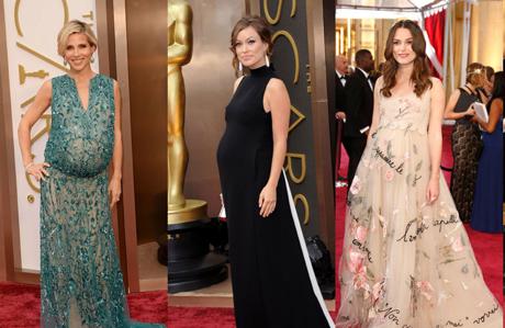 Oscar Ödül Töreni'nin gelmiş geçmiş en iyi hamile stilleri
