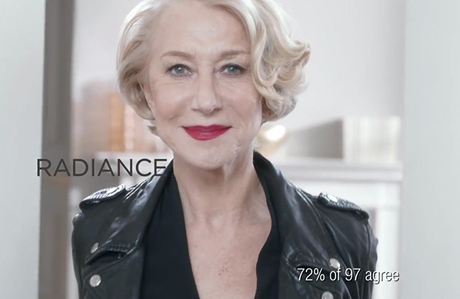 Helen Mirren L'Oreal Paris'in yeni yüzü