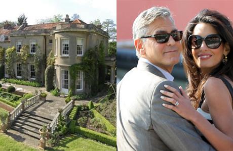 George ve Amal Clooney'nin yeni evi