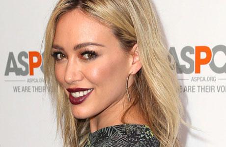 Hilary Duff saç stilini değiştirdi