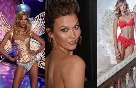 """Karlie Kloss """"Yılın Modeli"""" seçildi"""