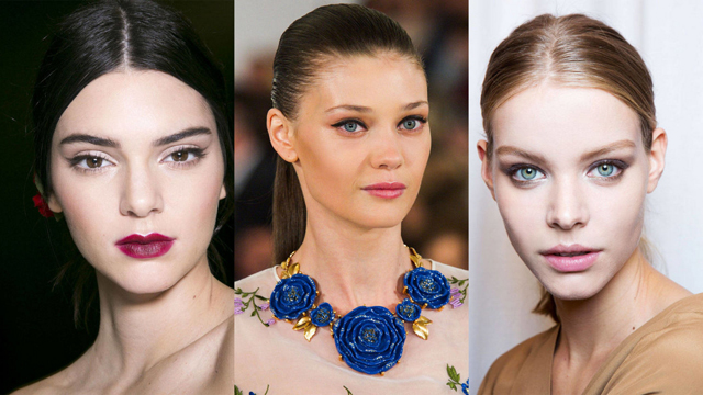 İlkbahar / Yaz 2015 makyaj trendleri