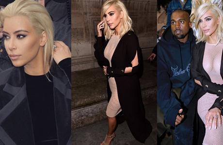 Kim Kardashian sarışın oldu!