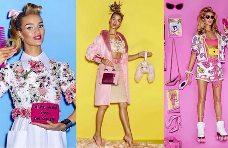 Rosie Huntington-Whiteley Barbie oldu!