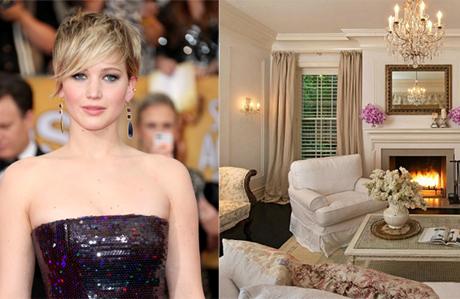 Jennifer Lawrence'ın muhteşem evi