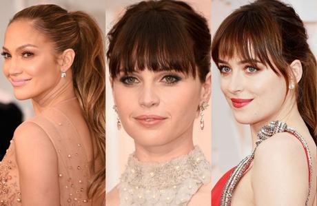 2015 Oscar Ödül Töreni'nin en güzel saç ve makyajları