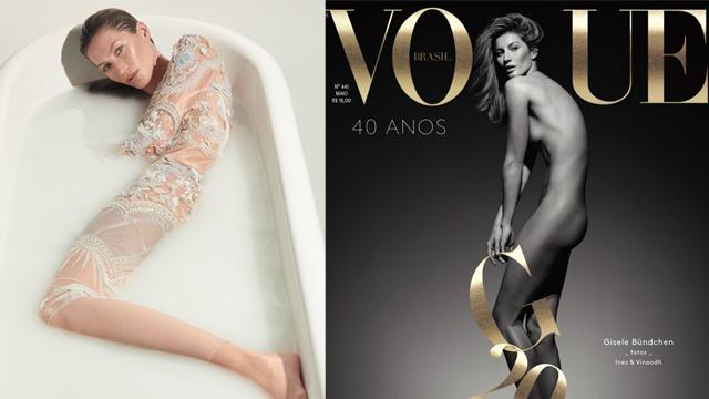 Gisele Bündchen Vogue dergisinde!