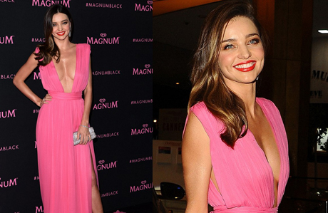 Miranda Kerr'in kusursuz Cannes stili
