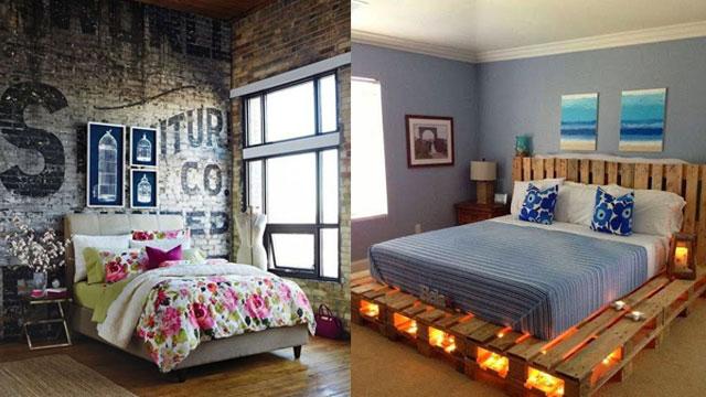 Bu yatak odaları size ilham verecek!