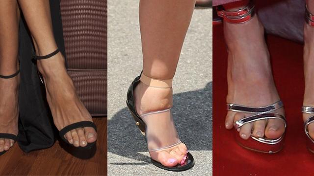 Bilin bakalım bu ayaklar hangi ünlülere ait?