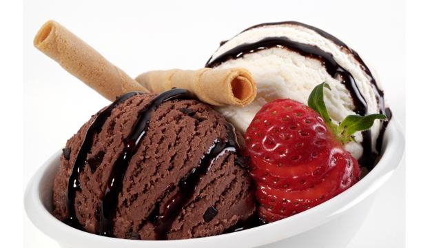 Sade ve kakaolu dondurma daha güvenilir