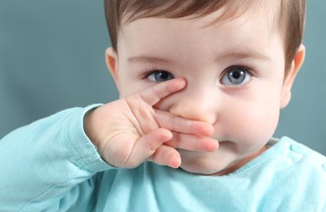 Bebeklerde burun temizliği önemli!