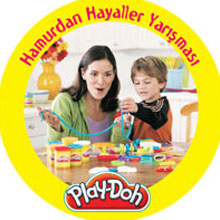 Play-Doh Hamurdan Hayaller Yarışması