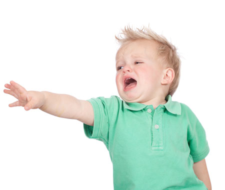 Çocuklarda Ağlama Alışkanlığı