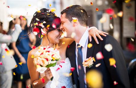 Gelin ve damadın nikahtan önce ilk karşılaşma anı