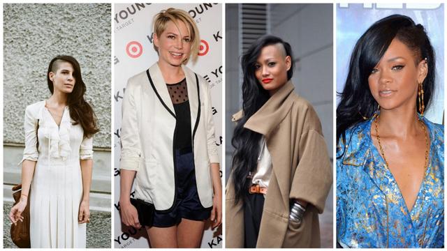 Cesur kadınların saç modeli!