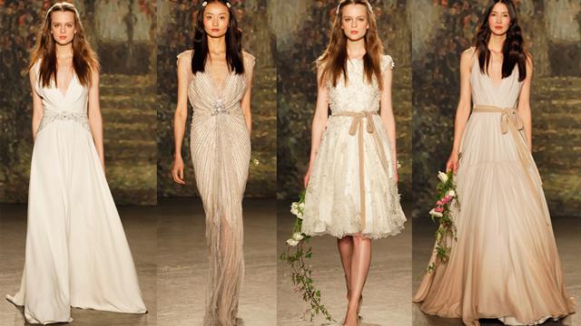 Jenny Packham 2016 Bridal serisi gelinlikleri rüya gibi