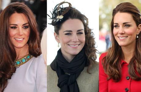 Kate Middleton'ın en güzel saç stilleri